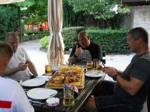 Biergarten Hotel Willy Gemona del Friuli