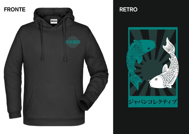 Felpa Japan Collective Koi - € 25,00