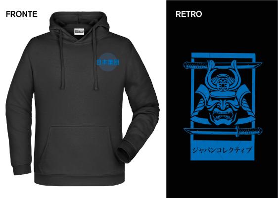 Felpa Japan Collective Samurai - € 25,00